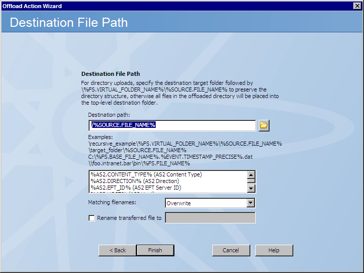 Copy or Move File to Host Action