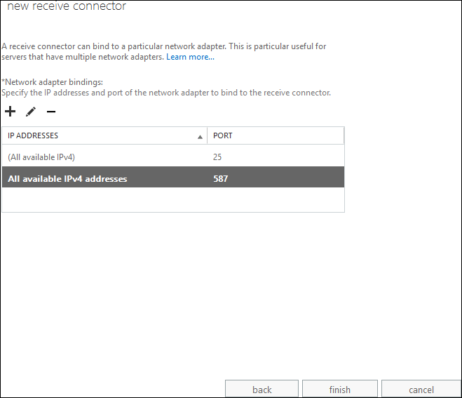 Configuring Authenticated Access to Exchange